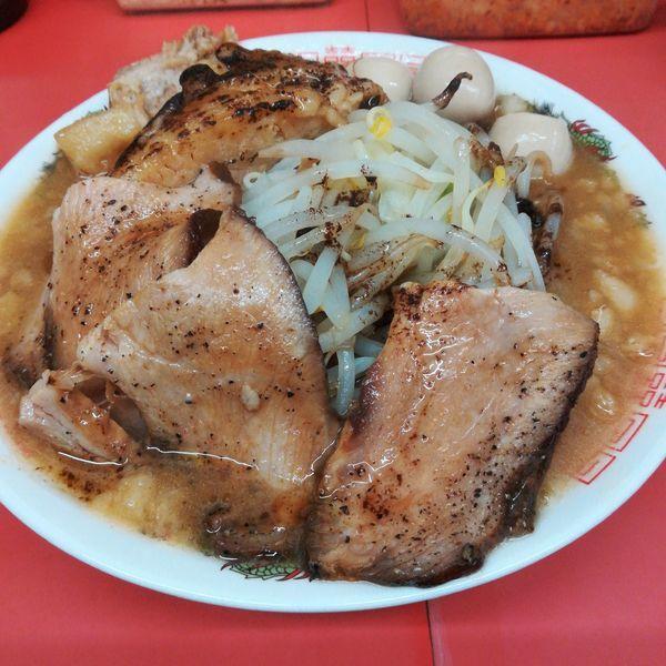 「小ラーメン(醤油)+ローストポーク」@ぬ〜どる専門店 バカみたいに愛してたの写真