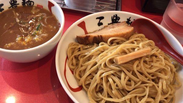「濃厚魚介つけ麺」@三豊麺 ~斬~ 浅草ROX前店の写真