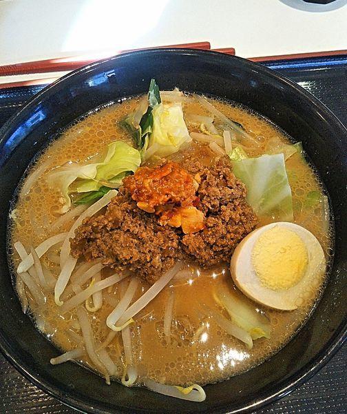 「みそとんこつ 780円」@日本平食堂の写真