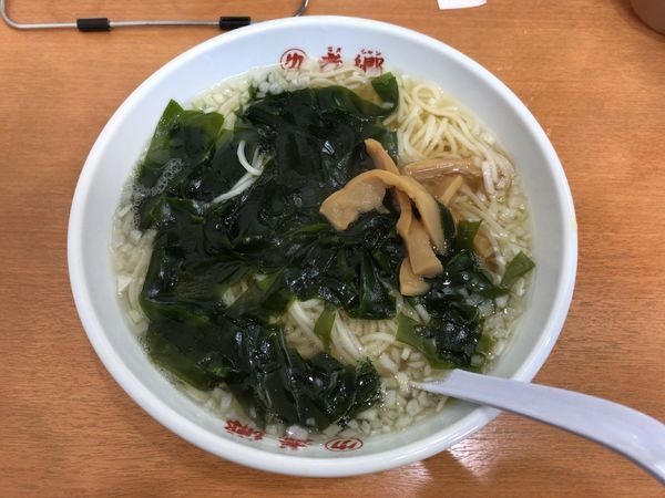 「タンメン(600円)+餃子(450円)」@老郷 本店の写真