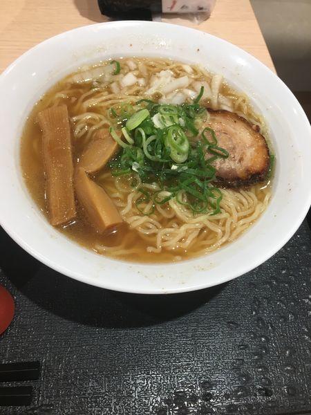 「大阪煮干し中華そば」@中華そば屋 炙り太郎 本店の写真