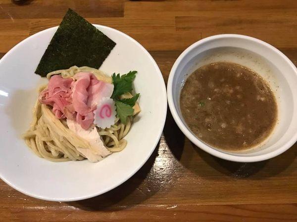 「濃厚煮干つけ麺」@馳走麺 狸穴の写真