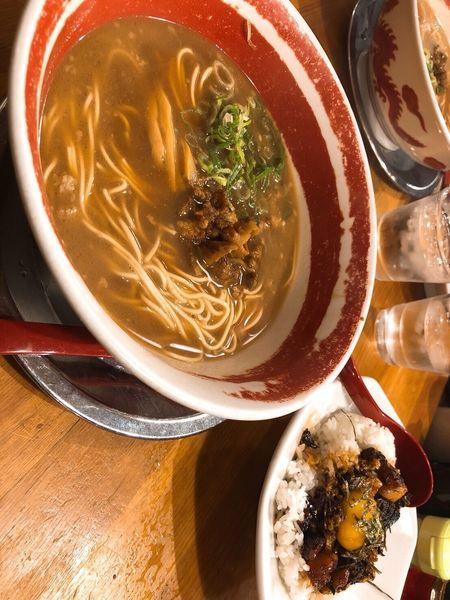 「徳島ラーメン チャーシュー丼セット」@徳島ラーメン 麺王 徳島駅前本店の写真