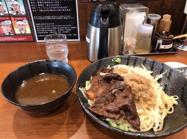 「牛つけ麺」@つけめんTETSU 赤羽店の写真