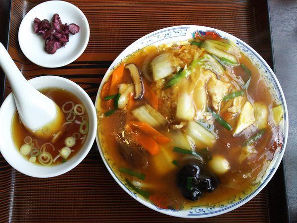 「あんかけ炒飯¥950」@ラーメンハウス 香雅の写真