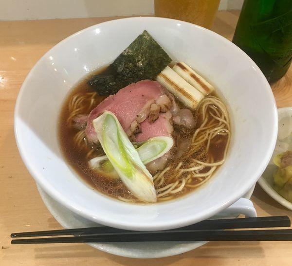 「鴨醤油そば【限定】1000円」@麺屋BISQの写真