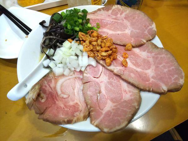 「【限定】濃厚辛チャーシューメン(辛さ抜き) 980円」@麺屋 扇 SENの写真