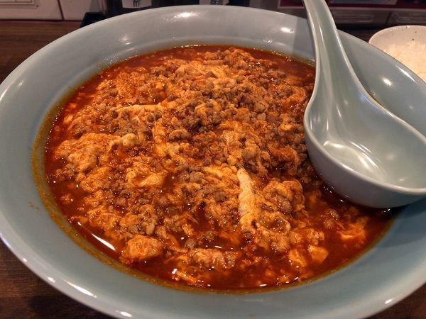 「味噌タンタンメン大辛ひき肉、たまごW」@ニュータンタンメン 蕨店の写真