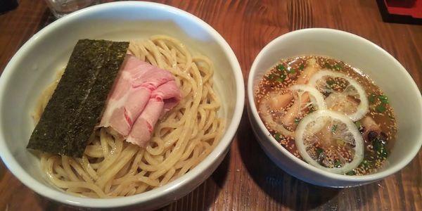 「丸鶏塩つけめん」@麺屋たつみ 喜心 狭山店の写真