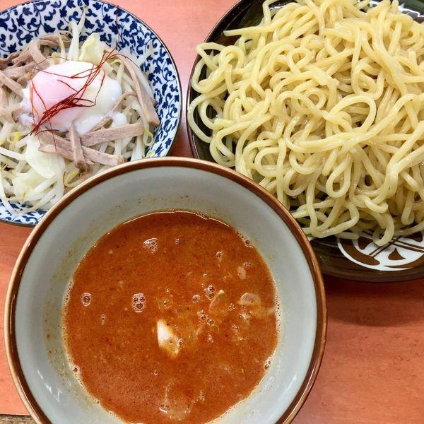 「坦々つけ麺(辛さ7)850円」@大勝軒 南加瀬店の写真