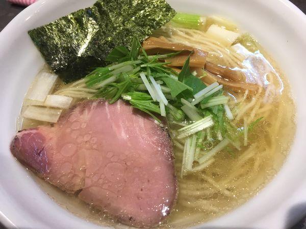 「鶏だし 塩 RAMEN」@RAMEN 火影 produced by 麺処ほん田の写真