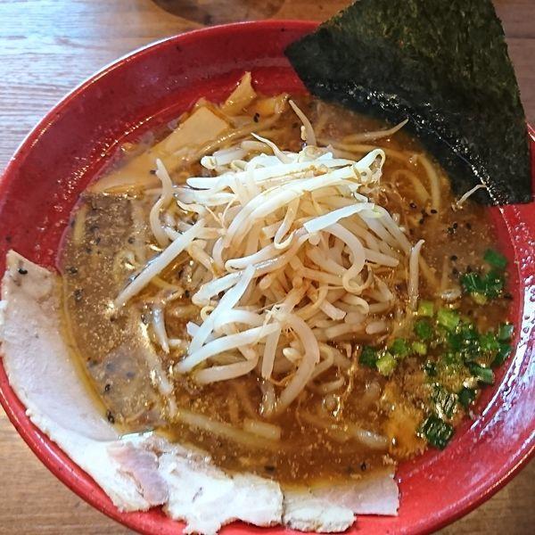 「もやし味噌ラーメン」@鈴弥 秋田店の写真