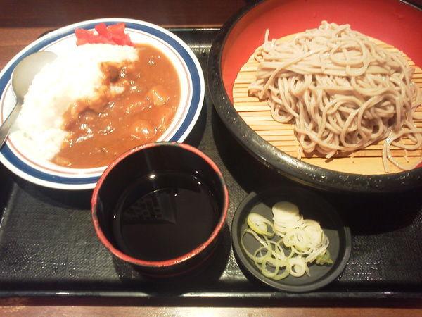 「ミニカレーセット 530円」@名代 富士そば 池袋東口店の写真