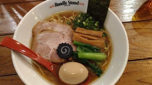 「KUROSHIO煮干しラーメン 醤油」@Noodle Stand Tokyoの写真
