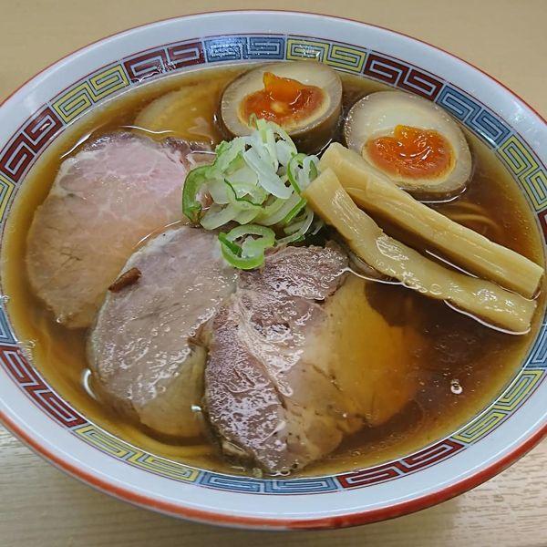 「特製昔ながらのラーメン」@煮干鰮らーめん 圓の写真