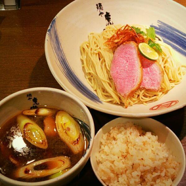「【大晦日限定】京鴨の醤油つけ麺 1000円」@麺や 虎徹の写真