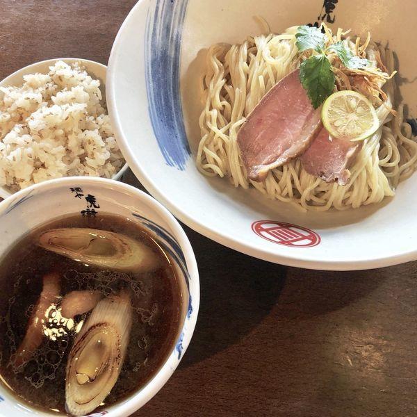「【大晦日限定】京鴨の醤油つけ麺」@麺や 虎徹の写真