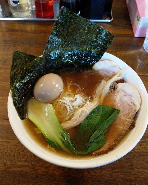 「まるわらーめん ¥900」@上州地鶏らーめん まるわの写真