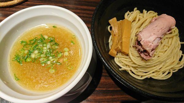 「ゆず塩つけ麺(850円)」@らーめん 本竈 エスパル仙台店の写真