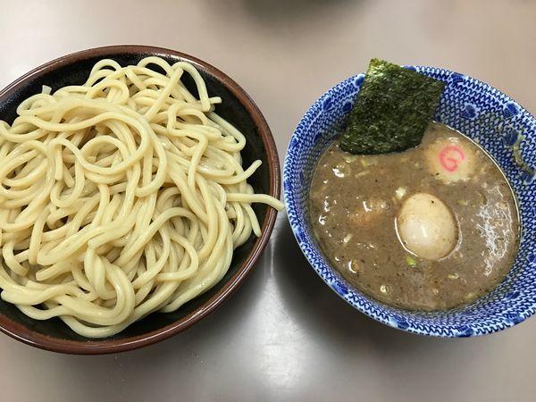 「つけ麺+味玉」@庵悟の写真