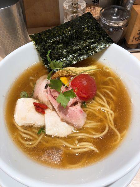 「煮干中華SOBA」@銀座 篝 Echika池袋店の写真