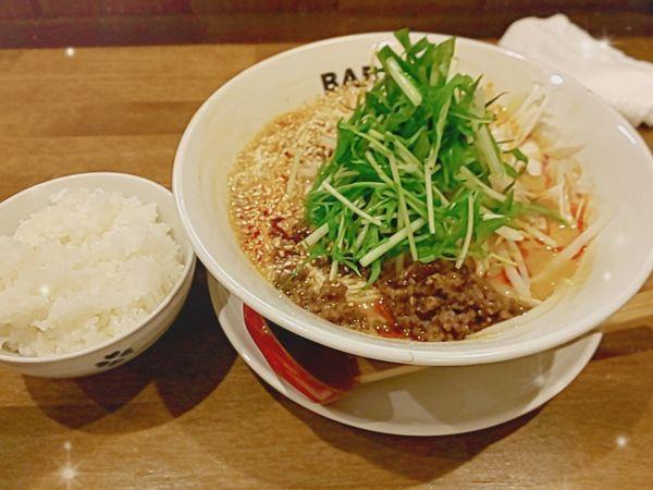 「担々麺」@BABAKE 興善町店の写真
