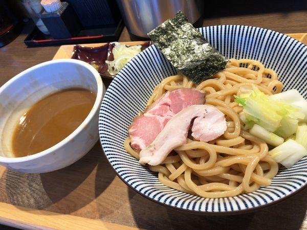 「つけ麺(大盛)」@長男、もんたいちおの写真