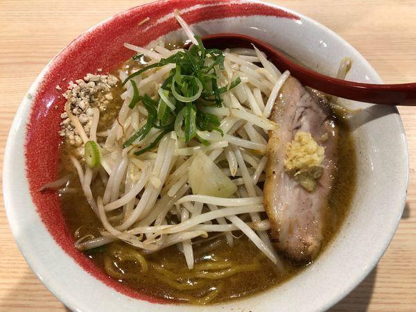 「スタミナ味噌(モヤシ増し)」@拉麺 大公の写真
