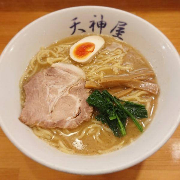 「醤油らーめんミニチャーシュー丼セット(中盛)」@天神屋 秋葉原本店の写真