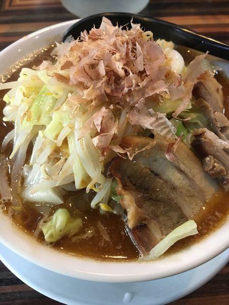 「味噌ラーメン¥750」@ラーメン・つけ麺 笑福 大阪西中島店の写真