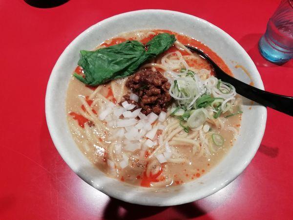 「担々麺」@つけめん工房 浅草製麺所の写真
