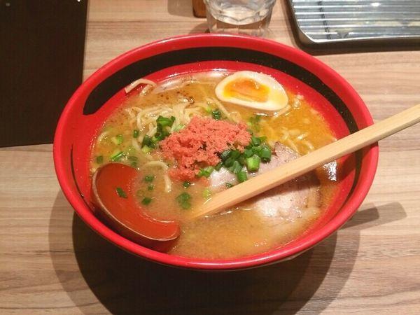 「えびみそ そのまま 太麺」@えびそば一幻 新千歳空港店の写真