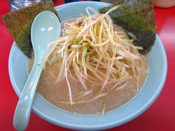 「ネギラーメン 690円 ※麺硬め・アブラ多め」@ラーメンショップ 石下店の写真