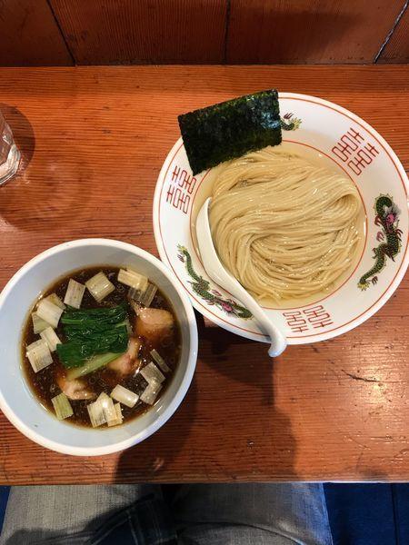 「濃厚昆布水の淡麗つけ麺醤油味 1000円」@麺処 ほん田の写真