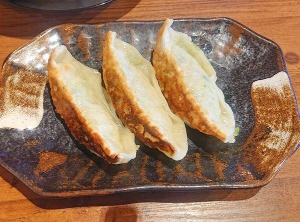 「餃子3個 300」@らーめん 久兵衛の写真