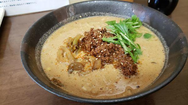 「こだわり担々麺 800円」@ごまやの写真