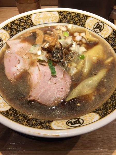 「すごい煮干ラーメン」@ラーメン凪 川口東口駅前店の写真