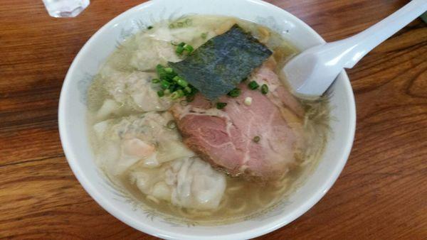 「塩雲呑麺 ¥1050-」@伊達屋の写真