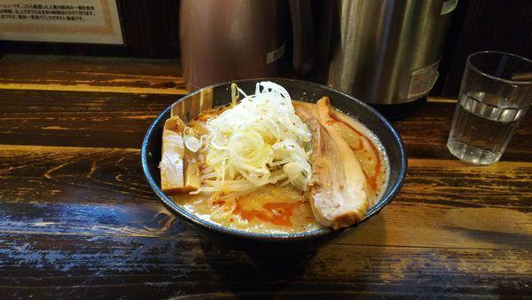 「冬限定 濃厚 豚骨魚介味噌ラーメン」@つけめん屋 赤羽京介の写真