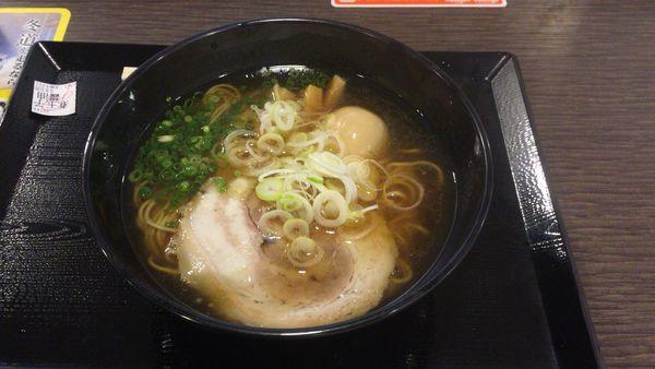 「煮玉子醤らぁ麺 980円」@らぁ麺MORIZUMIの写真