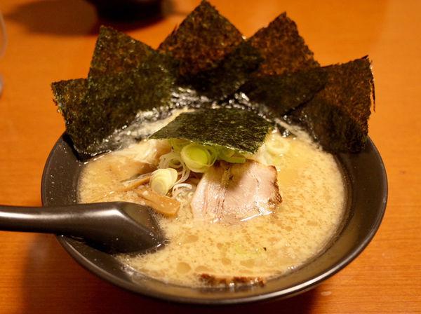 「海苔ラーメン…750円」@川出拉麺店の写真