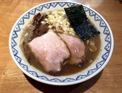 「煮干しらーめん並(780円)」@つじ田 奥の院の写真