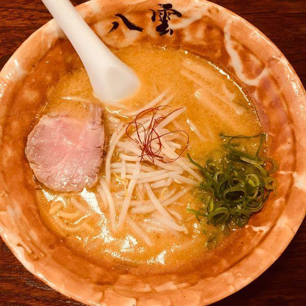「味噌ラーメン 半麺」@麺匠 八雲 本店の写真