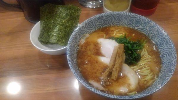 「豚骨醤油ラーメン(海苔増し)」@麺屋ARKの写真