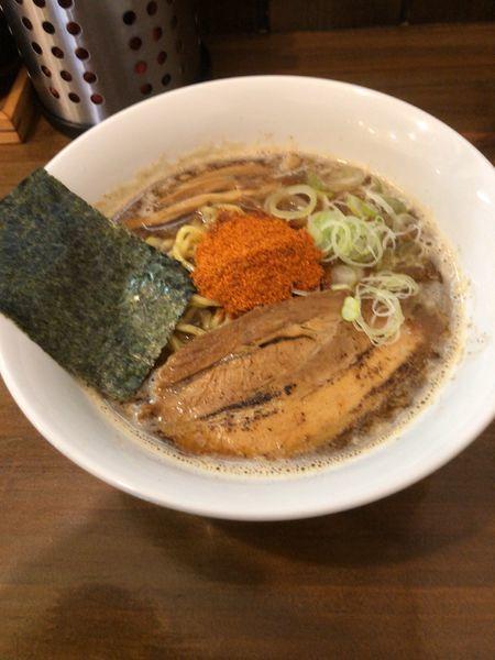 「【限定】闘辛魚介醤油」@麺処 はいからの写真