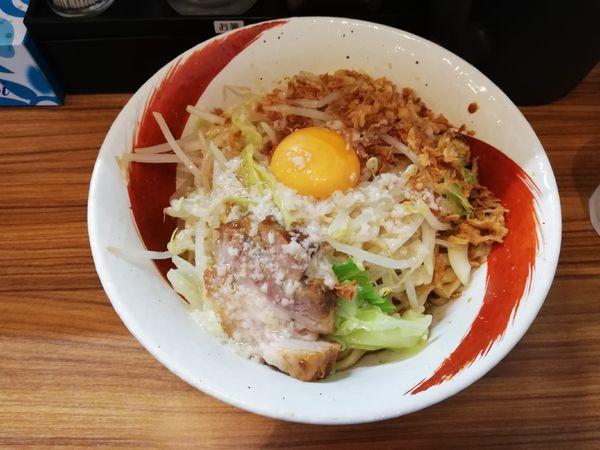 「まるそば 汁なし 肉なし」@麺家ひまりの写真