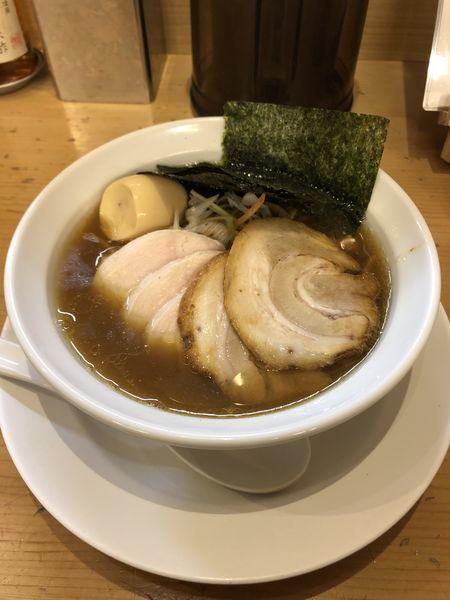 「特製平子煮干そば」@新橋 纏 京王高幡SC店の写真