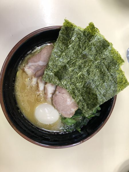 「半熟味玉チャーシューメン」@横浜ラーメン 武蔵家 千葉店の写真