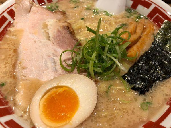 「東京豚骨ラーメン(中)」@屯ちん 川崎店の写真