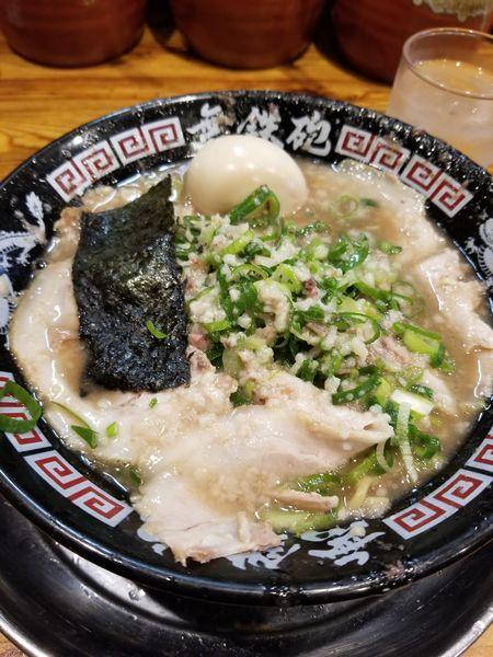 「豚骨チャーシュー麺」@無鉄砲 本店の写真